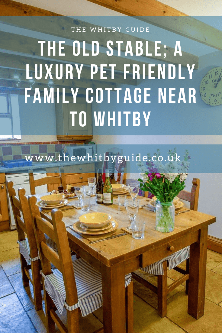 The Old Stable; A Luxury Pet Friendly Family Cottage near to Whitby
