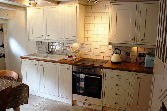 The kitchen at Summer Cottage; One Week in Robin Hoods Bay