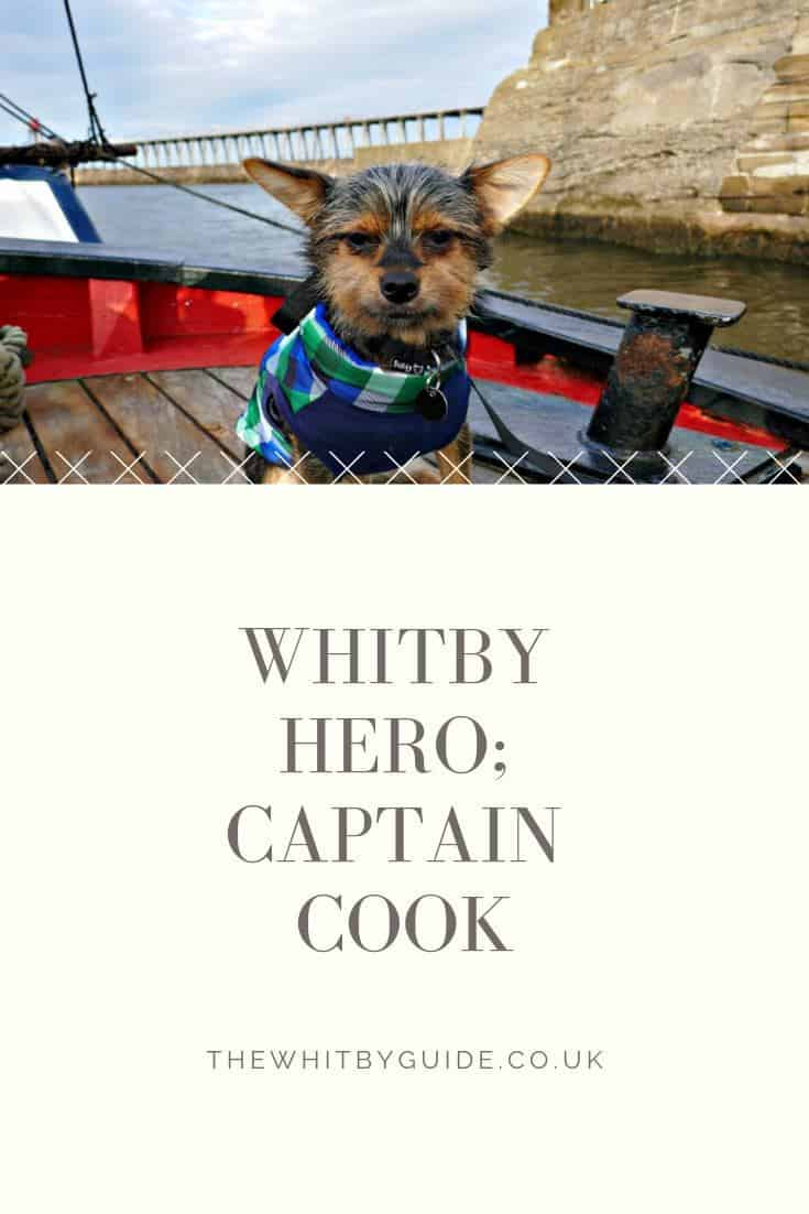 Whitby Hero; Captain Cook