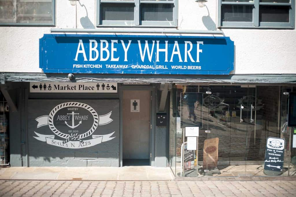Abbey Wharf; a great place to relax after Illuminated Abbey