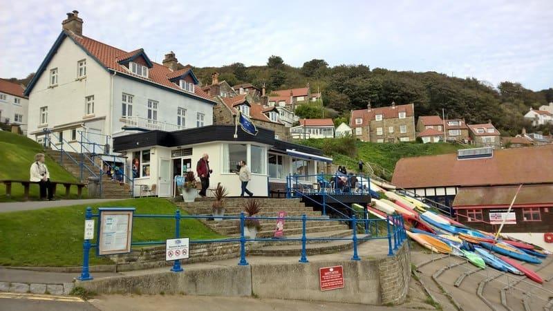 Sandside Cafe at Runswick Bay taken by-Chris-Morgan
