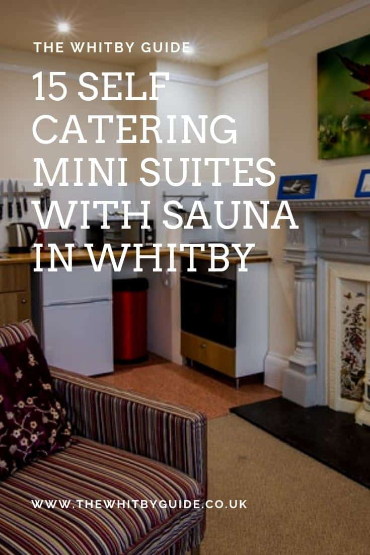 15 Self Catering Mini Suites With Sauna in Whitby