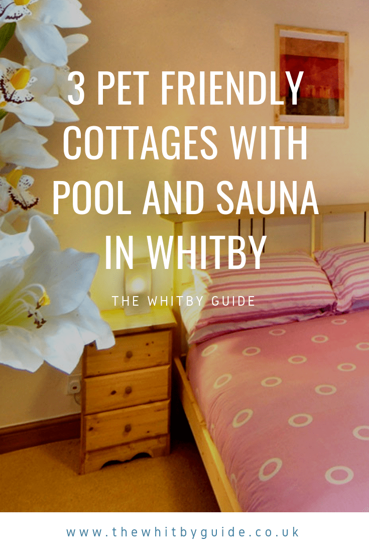 3 Pet Friendly Cottages With Pool and Sauna in Whitby
