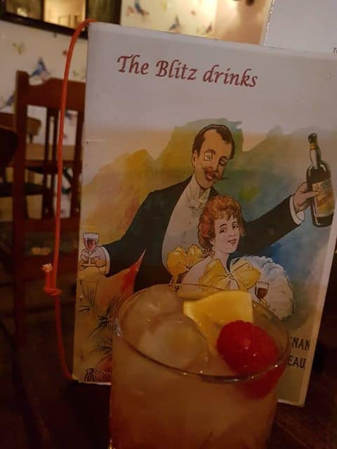 The Blitz Café Cocktails Whitby