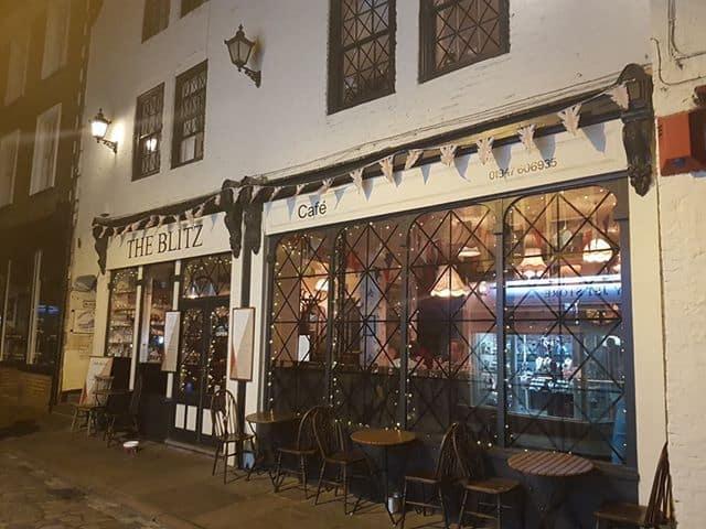 The Blitz Café Review Whitby