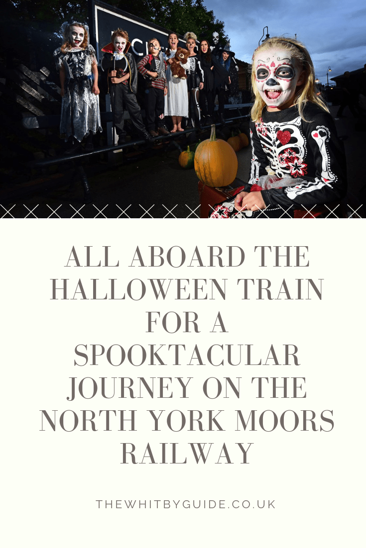 All Aboard the Halloween Train for a Spooktacular Journey on the North York Moors Railway