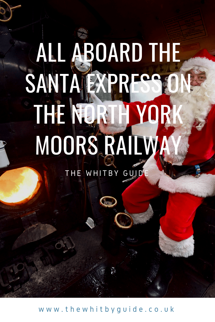 All aboard the Santa Express on the North York Moors Railway