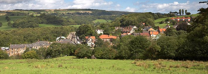 Grosmont; The Most Scenic Bus Route In The North York Moors, Pickering To Whitby