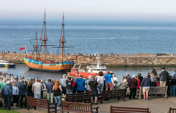 HM Bark Endeavour Replica; 10 Unique New Year Breaks In The North York Moors