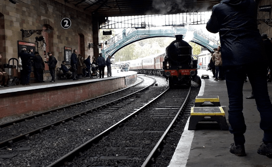 North Yorkshire Moors Railway in the Winter; Top 5 Winter Experiences in North York Moors