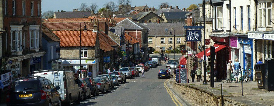 Pickering Market Town; The Most Scenic Bus Route In The North York Moors, Pickering To Whitby