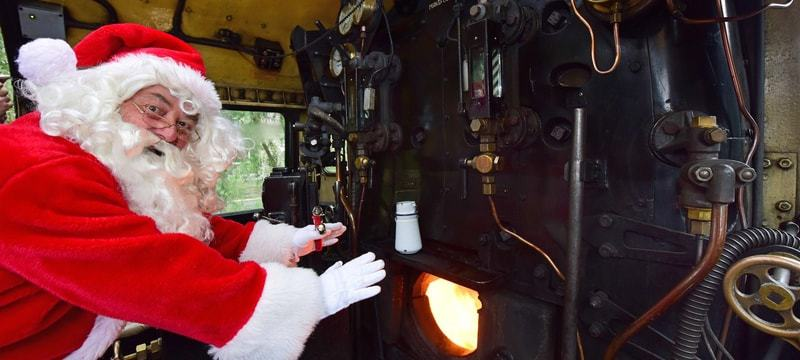Santa Specials Grosmont 2018; Winter NYMR Events