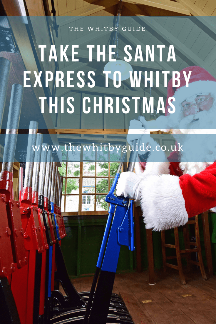 Take the Santa Express to Whitby this Christmas