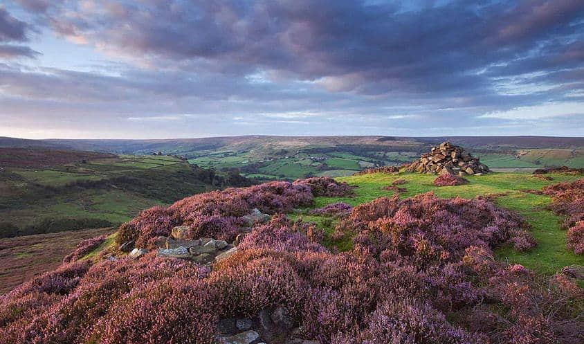 The shadowy beauty of North York Moors during autumn season; Top 5 Things to Do in Autumn In The North York Moors