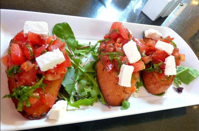 Bruschetta from Cosa Nostra; Explore The Secret Streets of Captain Cook District In Whitby