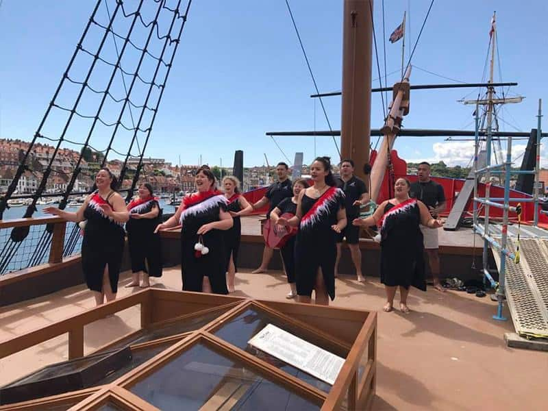 Celebrating the Cook 250 Anniversary; The Endeavour Experience; Captain Cook's Iconic Ship Has Returned To Whitby