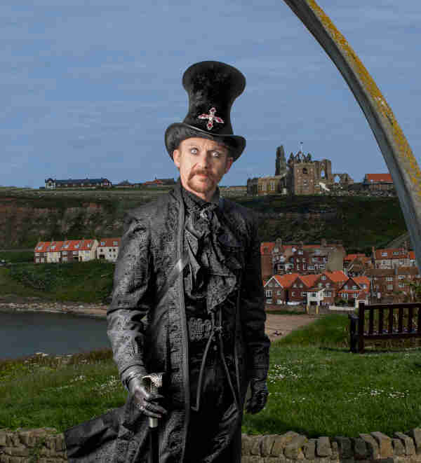 Dave Stephenson - Image by John Adams at Whitby Steampunk Weekend