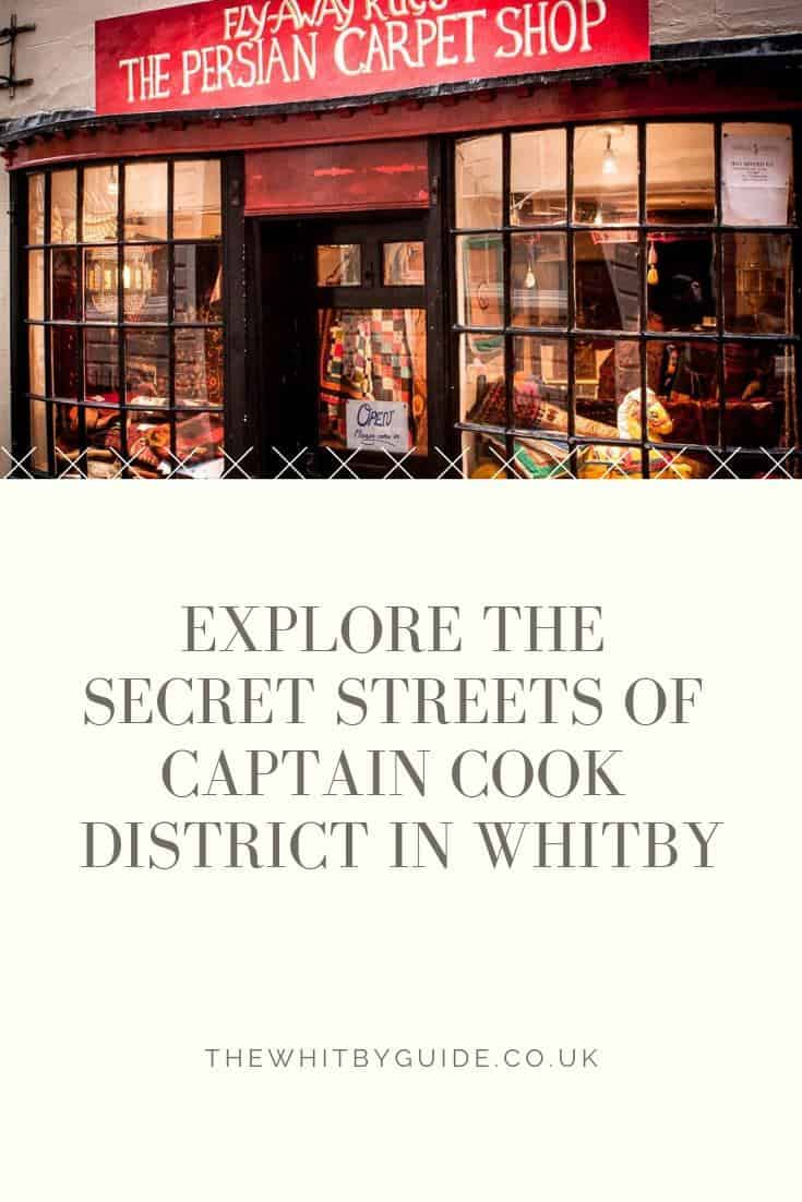 Explore The Secret Streets of Captain Cook District In Whitby