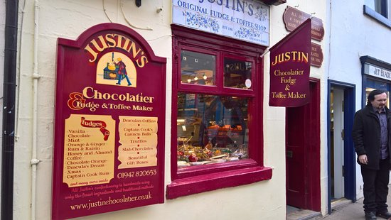 Justin's Chocolatier, Christmas Shopping In Whitby; Find The Best Christmas Gifts In Whitby