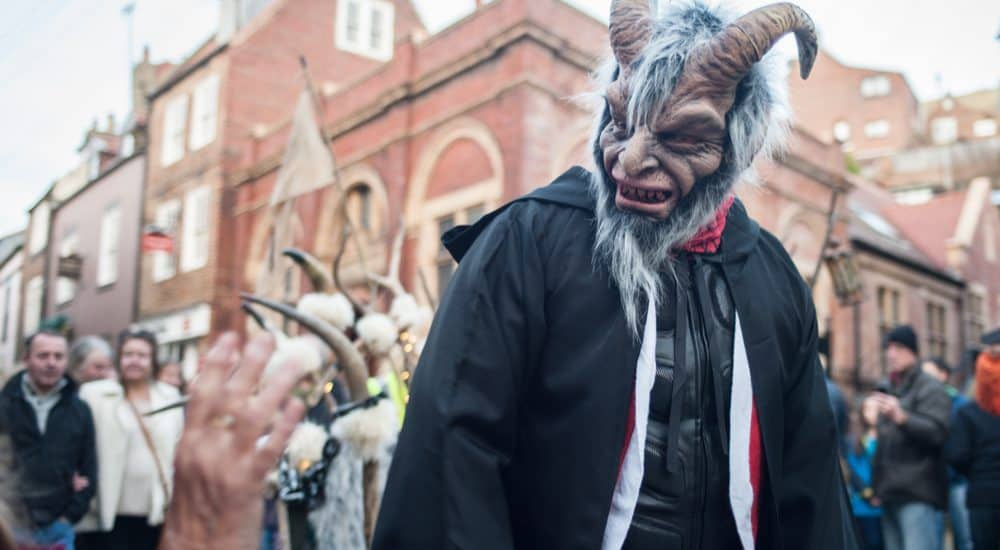Krampus Run; Whitby Christmas Festival