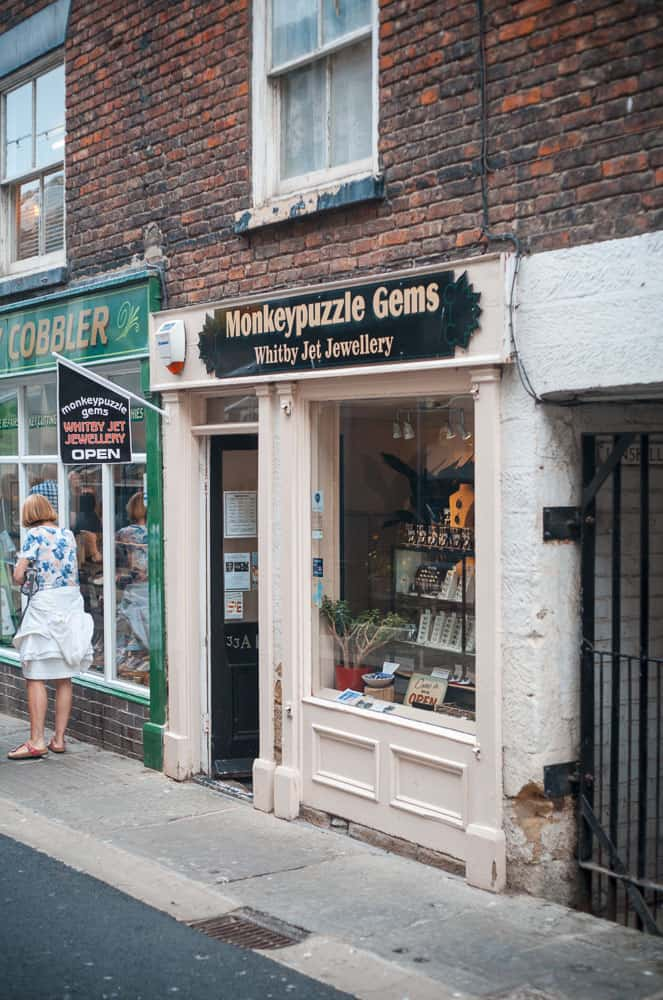 Monkey Puzzle Gems, Whitby Jet Shops; Where To Buy Authentic Whitby Jet
