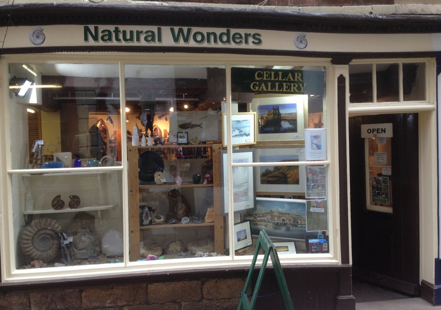 Natural Wonders Fossil Shop; Explore The Secret Streets of Captain Cook District In Whitby