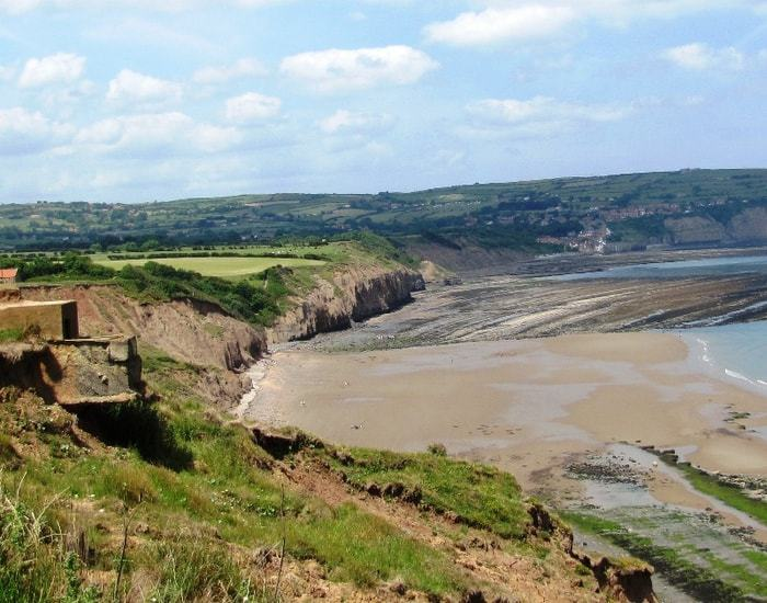 Ravenscar to Robin Hood's Bay Walk; 10 Stunning Christmas Walks In North Yorkshire For Your Enjoyment