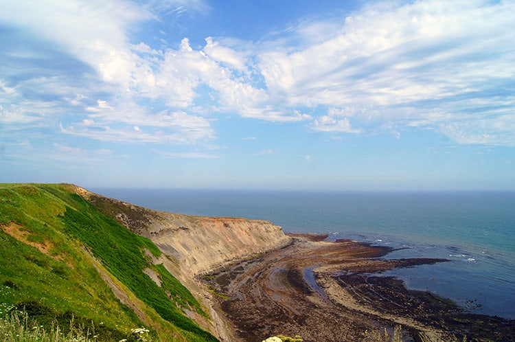 Staithes to Port Mulgrave Walk; 10 Stunning Christmas Walks In North Yorkshire For Your Enjoyment