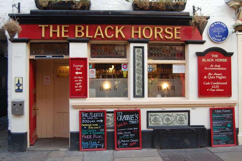 The Black Horse Inn, Christmas Shopping In Whitby; Find The Best Christmas Gifts In Whitby