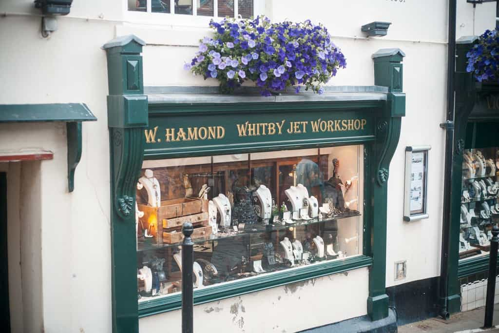 W Hamond, Whitby Jet Shops; Where To Buy Authentic Whitby Jet