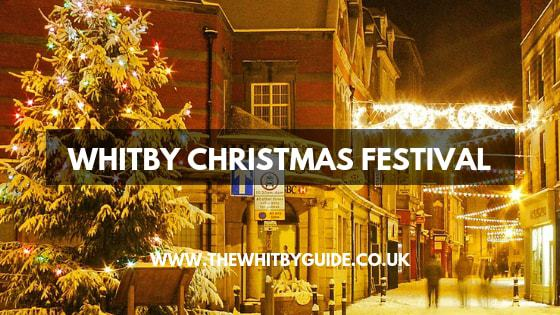 Whitby Christmas Festival - Header