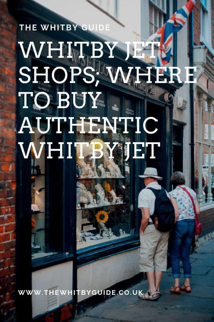 Whitby Jet Shops; Where To Buy Authentic Whitby Jet - Pin