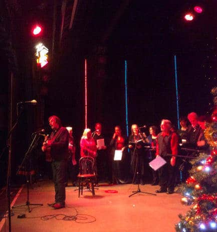 Richard Grainger at the Great North Christmas festival