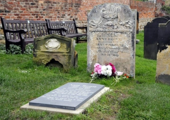 Anne Bronte's Grave; Top Attractions on the Yorkshire Coast