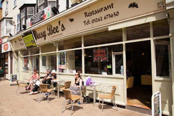 Busy Bee; Best Fish & Chips on the Yorkshire Coast