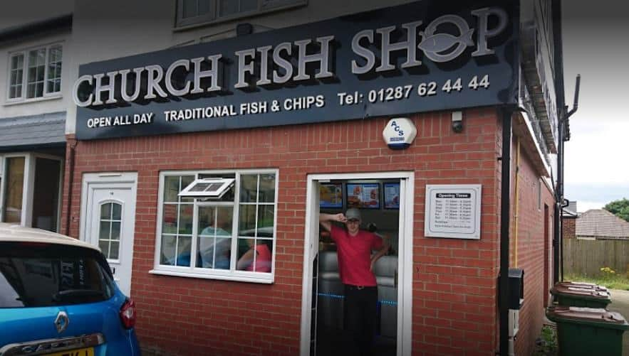 Church Fish Shop; Best Fish & Chips on the Yorkshire Coast