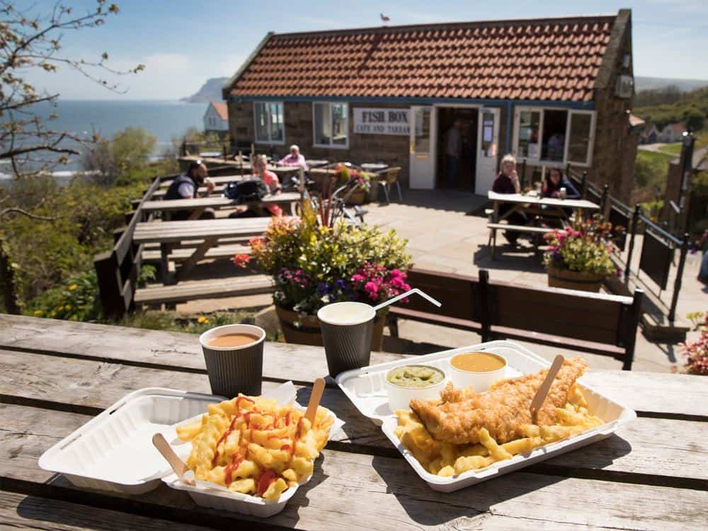 Fish Box - Robin Hood's Bay; Best Fish & Chips on the Yorkshire Coast