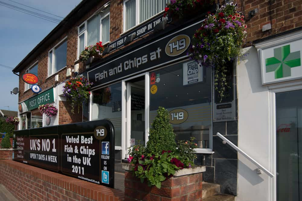 Fish and Chips at 149; Best Fish & Chips on the Yorkshire Coast
