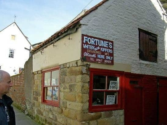 Fortune's Kippers; 11 Of The Best Fish and Chip Shops In Whitby