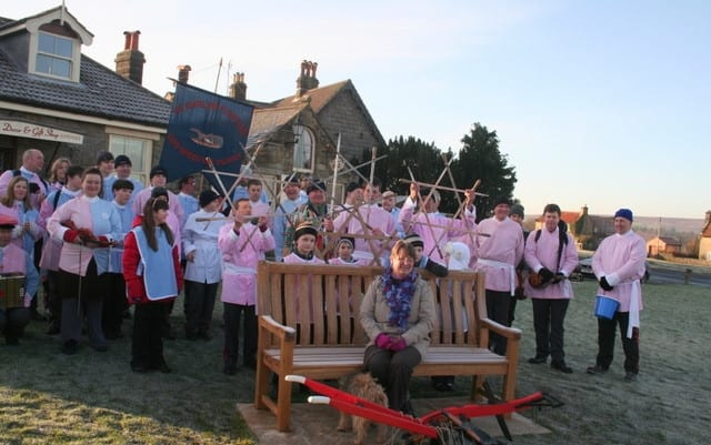 Goathland Plough Slots; What's On In Whitby In January (North York Moors and Yorkshire Coast)