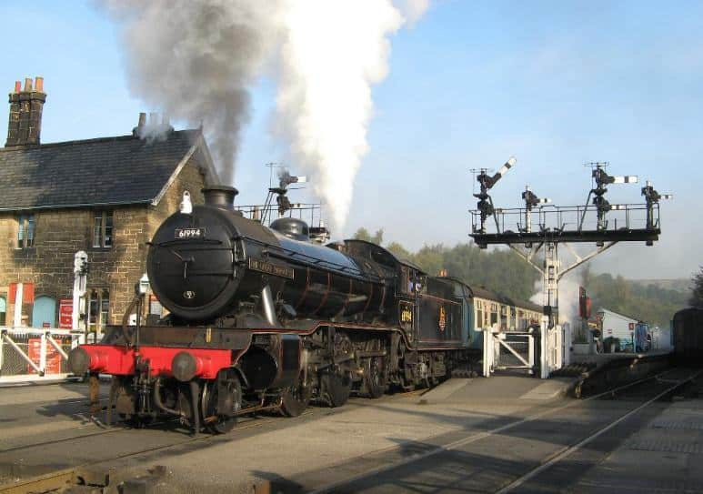 Grosmont Railway Station; 25 Best Cultural Things To Do in North York Moors National Park