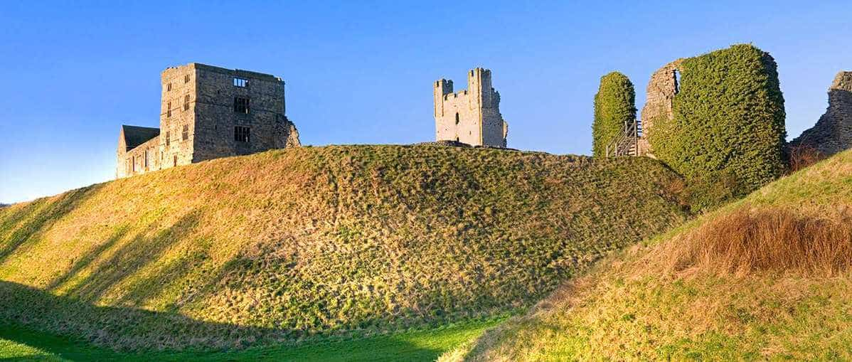 Helmsley Castle; Top Attractions on the Yorkshire Coast