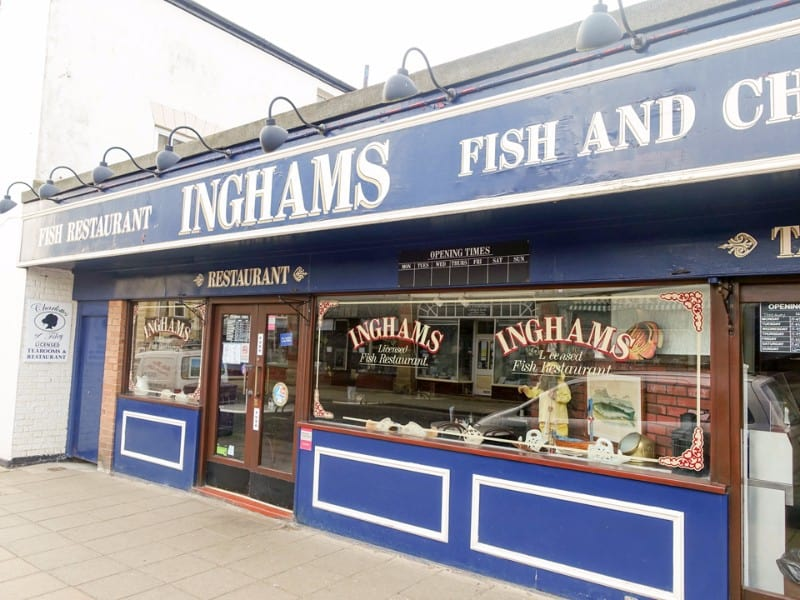 Ingham's Fish and Chips; Best Fish & Chips on the Yorkshire Coast