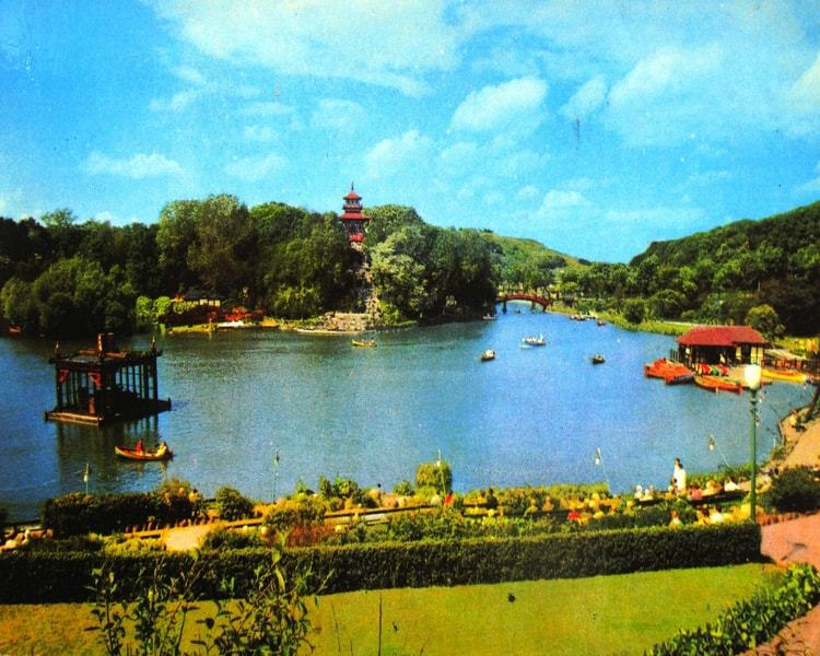 Peasholm Park in the North Bay; Top Attractions on the Yorkshire Coast
