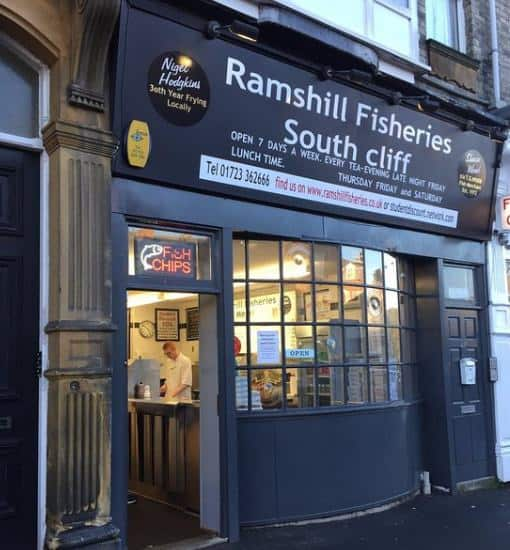 Ramshill Fisheries; Best Fish & Chips on the Yorkshire Coast