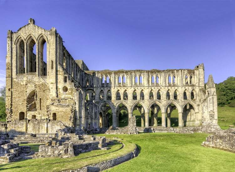 Rievaulx Abbey; Top Attractions on the Yorkshire Coast