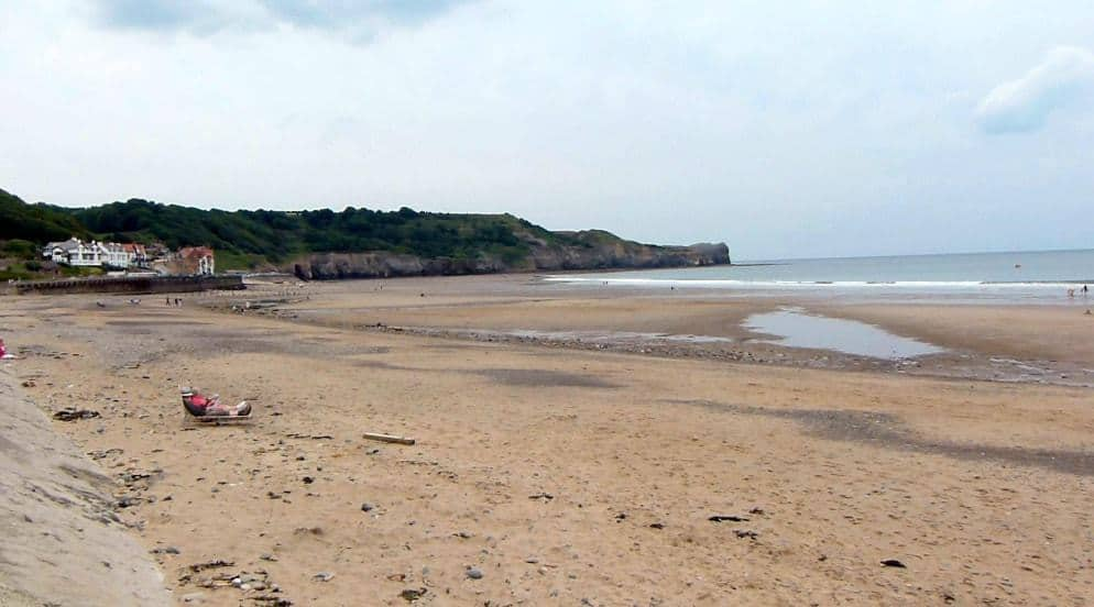 Sandsend Beach; 25 Best Cultural Things To Do in North York Moors National