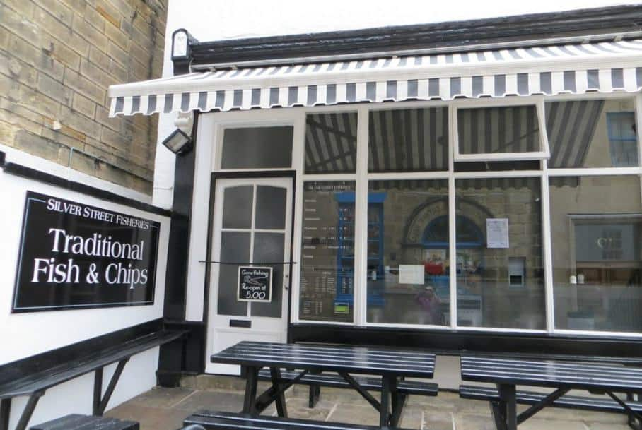 Silver Street Fisheries; 11 Of The Best Fish and Chip Shops In Whitby