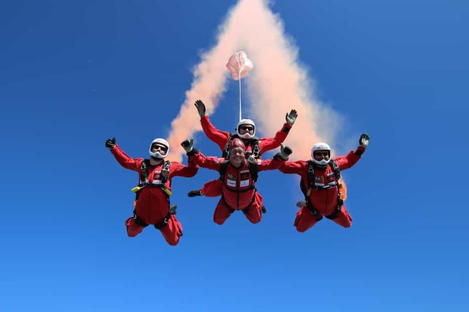 Skydive GB; Top Attractions on the Yorkshire Coast