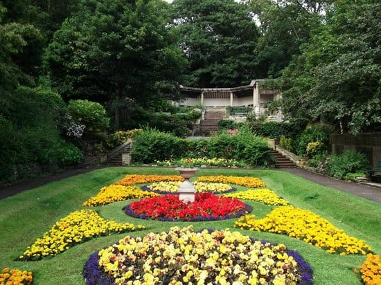 South Cliff Italian Gardens; Top Attractions on the Yorkshire Coast